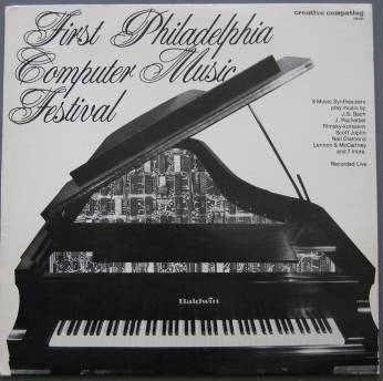 First Philadelphia Computer Music Festival